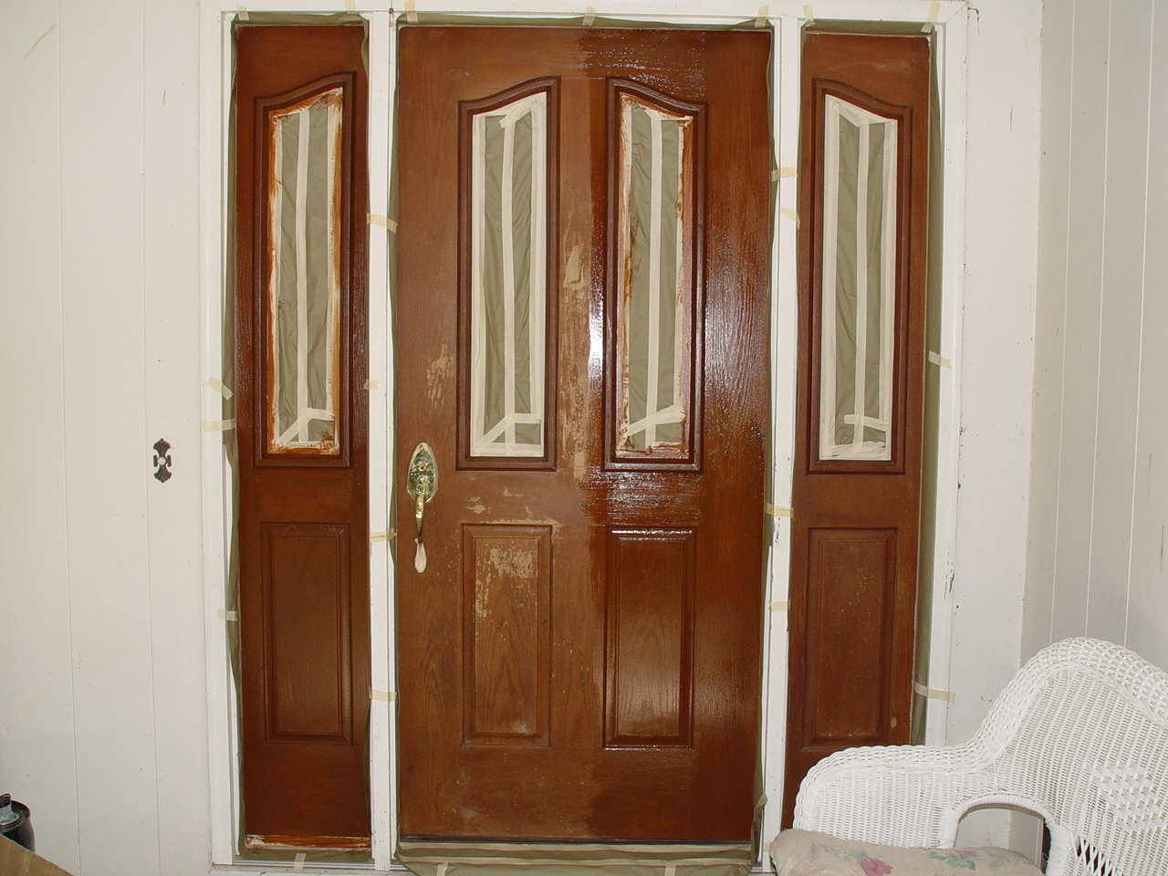 960 #4D200D Gel Stain Fiberglass Door Gel Stain Fiberglass Door Http://www  image Stainable Fiberglass Entry Doors 40231280